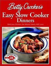Betty Crocker's Easy Slow Cooker Dinners (Special Sale), Betty Crocker Editors,