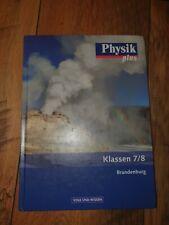Physik plus Klassen 7/8 Brandenburg Volk und Wissen