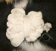 Schafwolle Schurwolle Strickgarn Naturprodukt 1000g Wolle weiss