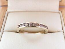 9ct Yellow Gold DIAMOND eternity ring 0.25ct Sz J