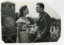FOTO-Ermanno Randi e Milly Vitale-Old Italian Film TRIESTE MIA Movie-Photo 1952