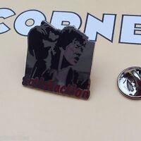 Pin's Folies Corner signé n° 496 Cinema Movie Enamel Satisfaction Rolling Stone