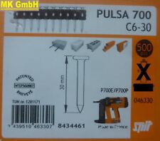 SPIT ACCESSORI: 500 chiodi c6-30 per pulsa 700 + 800 P/E gasnagler, 30mm