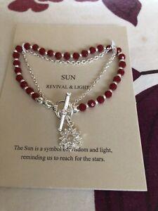 Ladies Bracelet - Stoned Heavenly 'Sun'