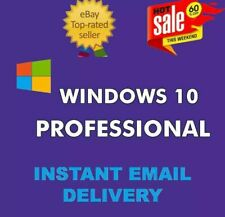 WINDOWS 10 PRO PROFESSIONAL GENUINE LICENSE KEY 🔑 INSTANT DELIVERY WORLDWIDE.