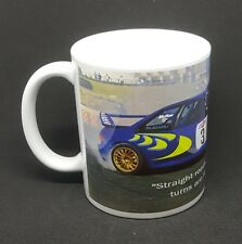 Colin Mcrae rally tribute mug, WRC rally subaru birthday present free gift box