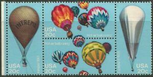 USA - Balloons block of 4 stamps 1983 MNH