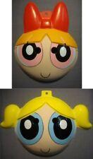 PowerPuff Girls Blossom and Bubbles PVC Mask Halloween Costume NEW