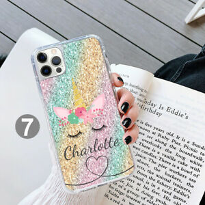 Personalised Unicorn Phone Case Cover For Apple Samsung iPhone GEL 211-7