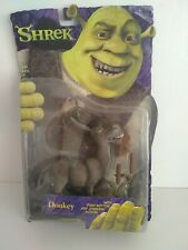 Shrek - Donkey Action Figure by McFarlane Toys 2001 Jaw Jabberin Action Sealed