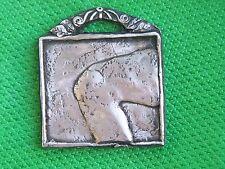 Tin/Silver Knee Milagro Ex Voto