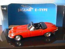 Jaguar E Type Roadster Series III V12 Red Autoart 53773 1/43 Mk3 Working Wheels