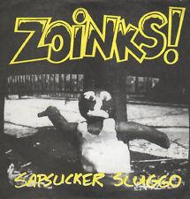 "Zoinks! Sapsucker Sluggo / Brawler 7"" Satan's Pimp Screeching Weasel Punk 1994"