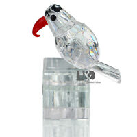 Clear 3D Crystal Paperweight Animal Facet Woodpecker Figurine Glass Wedding Gift