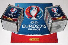 PANINI UEFA EM EURO 2016 France-International Edition 200 packets + album MINT