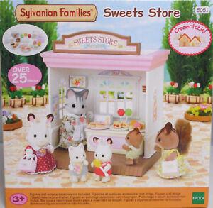 Sylvanian Families 5051 Süßwarenladen Leckermäulchen Sweets Store Geschäft NEU