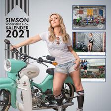 SIMSON MZA Vogelserie & Co. Kalender 2021 + Bonusmonat SR4 KR51 Schwalbe Spatz