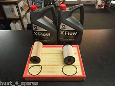 VW CRAFTER 2.5 TDI 2006- SERVICE KIT OIL FUEL AIR FILTERS 10LITRES OIL XFLOW