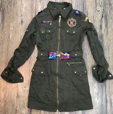 Coogi Military Inspired Dress Womens Size Medium 99B