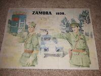 2 SPANISH CIVIL WAR  1938 & 1940 posters art. Food coupons. Execution propaganda