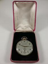 Waltham 21 Jewels Boxed 5 Adjustments 14K Gold Filled Case(see 23 pics)