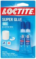 Loctite Super Glue Gel Instant Adhesive Repair Ceramic Wood Rubber Plastic Metal