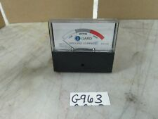 Gard I-Gard Corp. Ground Current Meter FSD 10A Model: GM10 Input: 0-10mA AC(New)