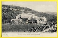 cpa ROSIÈRES Ardèche DOMAINE de RIBEYRE BOUSCHET Vins Ecrite par J.P. REYNOUARD