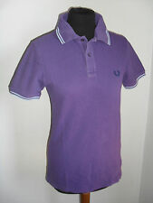 T-shirt Polo FRED PERRY LONDON  orig.100% Tg. 36 in Piche' Di Cotone AFFAREEEEE