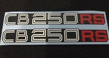 HONDA CB250 CB250RS SIDE PANEL DECALS