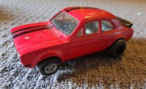 Ford Escort RS 1600 CD-52 Scalextric Vintage Slot Car 1:32 scale