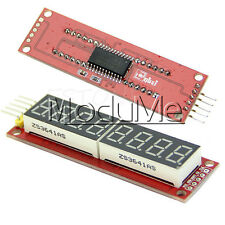NEW Red MAX7219 8-Digit LED Display Module Digital Tube Arduino SPI Control ME