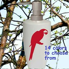 Parrot Soap Pump dispenser Bathroom Kitchen lotion soap Dispenser Parrot gift
