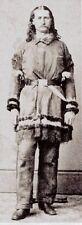 Wild Bill Hickok Lawman Gunfighter Wild West 1869 USA Reprint 7x3 Inch Photo