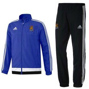 adidas Sportanzug Trainingsanzug Jogginganzug Jacke Hose Suit Herren Blau