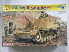DRAGON 1/35 WW II GERMAN SD.KFZ.166 STU PZ.IV BRUMMBAR 2N1 SMART KIT # 6460 F/S