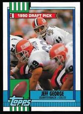 Lot Of 170 1990 Topps Jeff George Football Card # 298