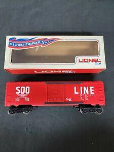 Vintage Lionel 6-9207 Soo Line Boxcar 9207 BNIB C-10