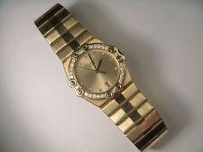 Exquisite 18K Gold Chopard st Moritz 2171 Diamant Zifferblatt Bezel 22-5mm Quarz