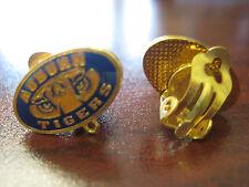 Auburn University Earrings - Tigers (clip on)