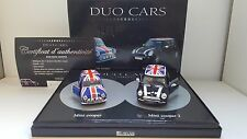 Atlas - Duo Cars - Coffret Mini Cooper et Mini Cooper 2 Union Jack (1/43)