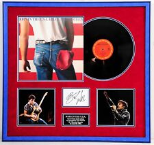 Bruce SPRINGSTEEN Signed Framed Card Display Born in the USA Album AFTAL RD COA