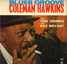 "TINY GRIMES / COLEMAN HAWKINS ""BLUES GROOVE"" JAZZ 60'S LP VSM / PRESTIGE 40341"
