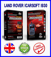 LAND ROVER DISCOVERY 3 DIAGNOSTIC SCAN TOOL FAULT CODE READER + ICARSOFT I930