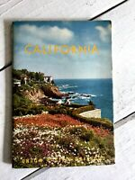 1956 UNION PACIFIC RAILROAD California GUIDE BOOK Vintage MCM Hollywood Retro