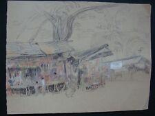 dessin ancien  école française début 20e