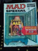 Vintage MAD Magazine Super Special Number Fifteen 15 w/ Nostalgic Mad Insert