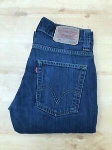 Men's Levi's 511 Slim Fit Blue Jeans W29 L31 (#A641)