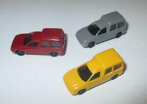 Rietze  VW Caddy  Bus  3 Stück  1;160  Neu