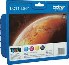 Original BROTHER Tinten Patronen 4er Sparpack LC1100HY Multipack Angebot!